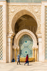 DSC_6161.jpg (susanm53@verizon.net) Tags: mosque hassanii 2017 casablanca morocco architecture tile arch religous fountain