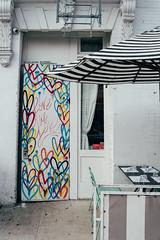 love y love (JoelZimmer) Tags: 35mmf2d lowereastside manhattan newyork nikond750 streetartgraffiti unitedstates us