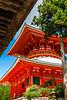 Koyasan, Wakayama Prefecture, Japan (David Ducoin) Tags: asia boudhism japan monk red religion shinto shrine temple koyasan wakayamaprefecture jp