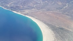 Shoreline flying in (East Coast of the Baja) (gadgetgeek) Tags: grandfiestaamericana sanjosedelcabo cabo delta beach mexicanfood eltoroguero fishtacos erin