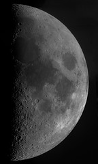 Moon - 2nd May 2017 (ukmjk) Tags: ueye mono astro astronomy camera orion optics omc140 telescope eq6 staffordshire stoke moon ui6250se