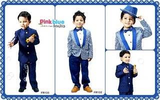 Designer Boys Partywear Tuxedo Suits for Weddings