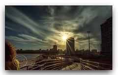 ATARDECER NA AVDA. BEIRAMAR. (manxelalvarez) Tags: atardecer solpor puestadesol pordosol nubes cielos paisajes aracaju sergipe brasil