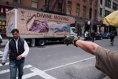 divine touch (zlandr) Tags: candid chrisfarling leicaq street zlandr manhattan midtown nyc newyork newyorkcity city urban