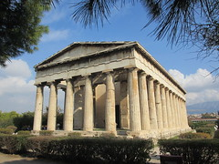 Temple of Hephaestus, Athens, Greece (Paul McClure DC) Tags: athens greece attica nov2014 athína ελλάδα ελλάσ historic