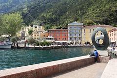 Riva del Garda (Trentino) (viola.v94) Tags: riva garda lago lake travel tourism wanderlust walking structure architecture perspective colorful water trentino alto adige italy sony photographer