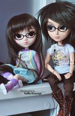 Nerd brother & sister (·Yuffie Kisaragi·) Tags: doll dolls pullip youtsuzu custom yuzuaesthetic makoto taeyang prince ramiro kenjiro obitsu rewigged rechipped