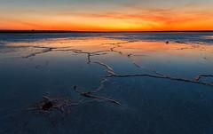 Salty Sunset (djryan78) Tags: autumn victoria laketyrell landscape sunset dslr australia saline outdoor lake buloke reflection dusk water 6d pool smoke flat sealake salt cloud salinity 1740l 1740 canon6d canon longexposure fall saltlake laketyrrell au