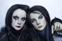 Corvo and Fayte (lukoshka) Tags: dollshe saint dollshecraft bjd abjd doll