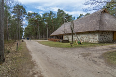 Traditional housing of the indigenous populations of Estonia (AudioClassic) Tags: house wooden building home old window rural exterior wood vintage architecture estonia rustic cottage background tree country historic cabin log roof timber europe forest outdoor private traditional ancient nature structure brown antique facade shelter travel countryside glass farm town tallinn construction nostalgic natural ageless