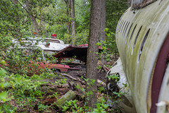 Abandoned Plane and Ambulance (The Dying Light) Tags: abandoned new jersey dcirc urban exploration photography exploring 2017 ambulance circ plane urbex airplanewreck newjersey dornier328 abandonedplane urbanexploration urbanexploring urbanexplorationphotography abandonednewjersey weatherchannel travel weatherchanneltravel cnntravel