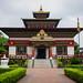 Tibetan temple in Bodhgaya, India