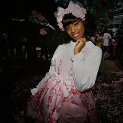 Harajuku Style (slightheadache) Tags: 2017 analog botanicgarden brooklyn cherryblossomfestival cosplay cute film filmcamera fun kawaii mamiya mamiya6mf nybotanicgarden nyc newyorkcity party sakura sakuramatsuri velvia velvia50 characters color woman