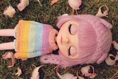 Candy rainbow <3 (·N a t h·) Tags: blythe doll rainbow lilac lilitix