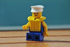 muster drill (Gordon McKinlay) Tags: po cruise a710 april 2017 southampton holiday ship lego minifig minifigure legominifig