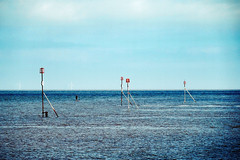 Paddle The Sea (Chris Goodacre) Tags: eastcoast hunstanton olympusstylus1 chrisg35mm filmlook dxofilmpack