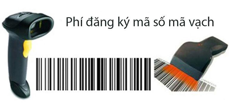 Phí đăng ký mã số mã vạch