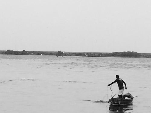 Bacia portuária do Recife - pescar
