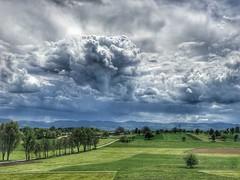 Wolken über dem Schwabenland (Blende2,8) Tags: reutlingen wolken himmel wiesen felder bäume albtrauf naturemasterclass