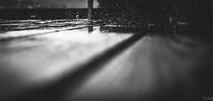 f-rain (photozweiundachzig) Tags: 2017 art deutschland naturaufnahmen regen schwarzweis rain table tisch blackandwhite fuji fujifilm 23mm outside