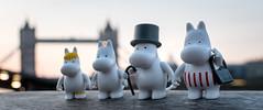 The Moomins in London (Reiterlied) Tags: 18 35mm d500 dslr lens london moomin nikon photography prime reiterlied stuckinplastic towerbridge toy