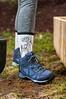 (Paul Mackay Photographie) Tags: merrell shoes boots backyard nikon nikondslr nikond300 d300 flash shovel socks legging earth ground 50mm