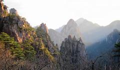 Sunrise Mt Huangshan - (Yellow mountain) (Mary Faith.) Tags: mountain huangshan yellow china southern hill range mount peaks sunrise tourism hiking