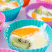 Mini Fruit Cup Cakes with Yogurt