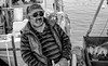 The Greek (Henk X) Tags: bw fisherman greece kos harbour mandraki