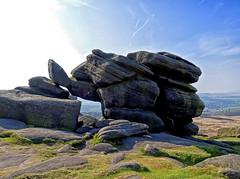 Burbage rocks. (S.K.1963) Tags: elements burbage rocks derbyshire peak district landscape olympus omd em1 12 40mm pro