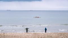 Dancing on the Beach (Poul_Werner) Tags: damstederne danmark denmark skagen easter hav ocean påske sea northdenmarkregion dk