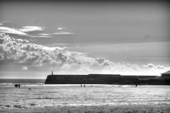 Porthcawl Harbour B&W