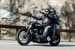 Harley-Davidson Deluxe 1704238788w (gparet) Tags: bearmountain bridge road goattrail goatpath scenic overlook outdoor outdoors motorcycle motorcycles motorcyclist windingroad curves twisties couple couples
