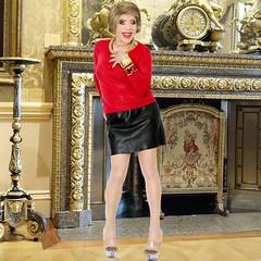 home14778 (Ann Drogyny) Tags: shoes legs heels crossdress crossdresser crossdressing cd tv tg ts transvestite transgender transsexual tranny tgirl glamour pinup mature cute sexy stockings nylons suspenders garters