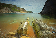 Man o war bay,Dorset. (neath stan the man) Tags: nikon 1020sigma lee 10stopper d7000 landscapes seascapes dorset