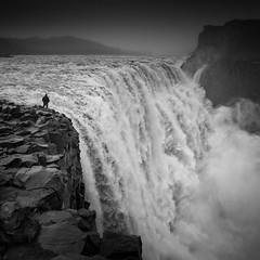 Prometheus (vulture labs) Tags: iceland workshop bw dettifoss waterfall black white prometheus