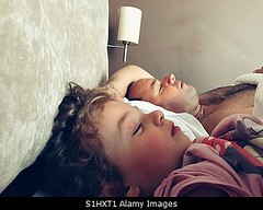 Photo accepted by Stockimo (vanya.bovajo) Tags: stockimo iphonegraphy iphone father daughter sleeping man toddler little girl family bed asleep sleep calm relaxing togetherness love single parent childhood child parenthood
