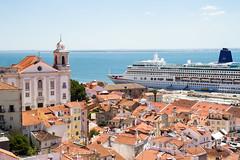 View from Lisbon (Thea Teijgeler) Tags: lissabon portugal lisbon lisboa zee see cruiseboat