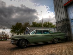Dodge Matador (Skylark92) Tags: nederland netherlands holland flevoland almere vlaardingenstraat dodge matador 1960 sedan car classic rusty chrome