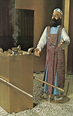 The Moses Tabernacle Reproduction, Lancaster, Pennsylvania (SwellMap) Tags: postcard vintage retro pc chrome 50s 60s sixties fifties roadside midcentury populuxe atomicage nostalgia americana advertising coldwar suburbia consumer babyboomer kitsch spaceage design style googie architecture waxmuseum effigy figurine
