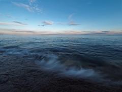 Less is more (Jarno Nurminen) Tags: seascape wave dusk evening sunrise balticsea