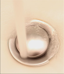 H2O - Macro Mondays - Intentional Blur (timeinabox) Tags: macromondays motionblur waterstream sink drain timeinabox
