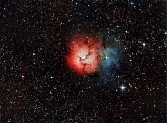 Nebulosa Trifida o M20 (ACHAYA - Astrofotografías) Tags: nebulosa trifida m20 achaya san felipe