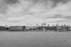St. Paul's Cathedral (Number Johnny 5) Tags: cranes tamron thames nikon cathedral pauls saint holiday 2017 london river cityscape d750 2470mm skyline dome april