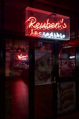 Reuben's Incredible (daniel_james) Tags: 2017 canon6d canon1635mm kingstreet newtown innerwest sydney nsw australia neonsign newtownneon reubensandwich red deli
