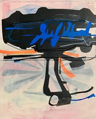 Jim Harris: Johann Franz Encke Probe. (Jim Harris: Artist.) Tags: art arte probe peinture kont konst kunst künstler space contemporaryart cosmology cosmos weltraum schilderij painting abstract abstractart lartabstrait zeitgenössische technology technik japan geometric geometrický geometrisk neogeo plasticism blue black