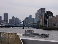 P1004112 (digitalbear) Tags: panasonic lumix gh5 sumida river kiyosumi garden eidai bridge tokyo japan sharehotel lyuro skytree fukagawameshi miyako yakatabune