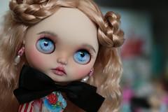 Sadie's got blue eyes