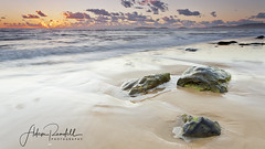 Havoc (Adam Randell) Tags: rainbowbeach rocks queensland visitqueensland visitcooloolaregion visitgympie ocean water waves wideangle adamrandell australia adamrandellphotography canon clouds sky sand sunrise seascape singhray sunshinecoast