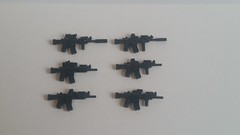 M4A1 Mods (影Shadow98) Tags: lego minifigcat brickarms tiny tactical m4a1
